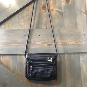 Tignanello Genuine Leather Crossbody Bag